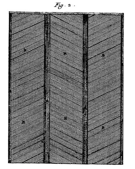 dessin Point de Hongrie par Diderot