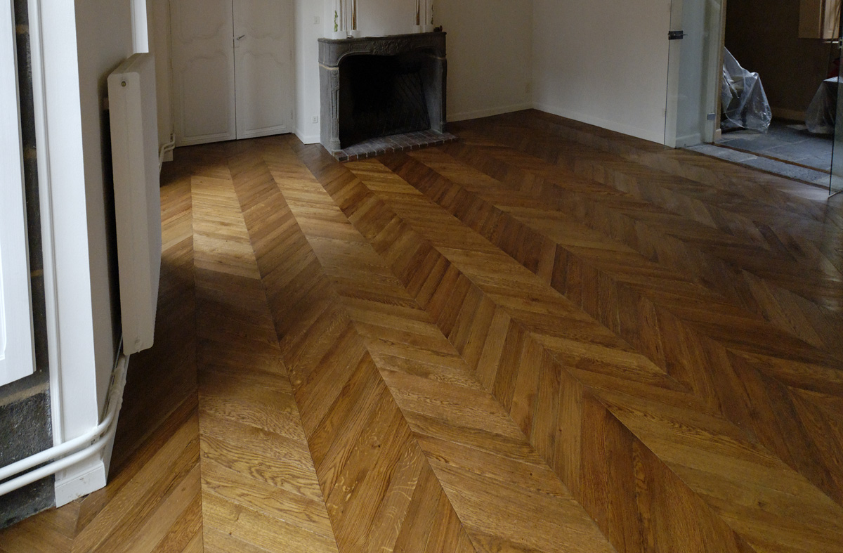 Exemple n°2 parquet Point de Hongrie