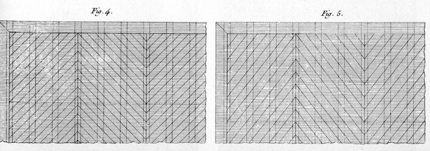 dessin Point de Hongrie par Roubo de Mazerolle